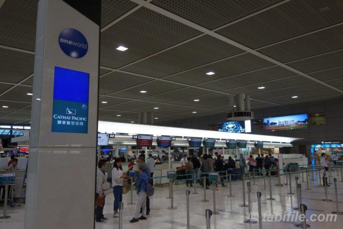 成田空港CPAカウンター