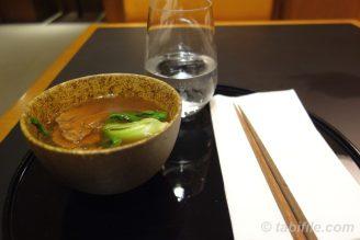 牛肉麺 at Cathay Pacific taipei noodle bar