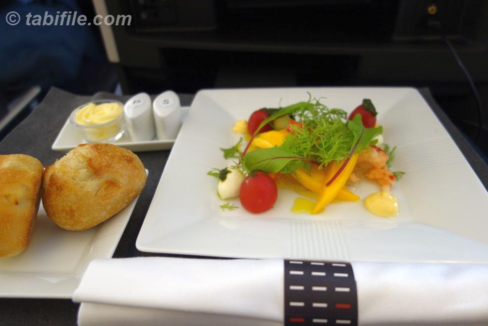 機内食 前菜