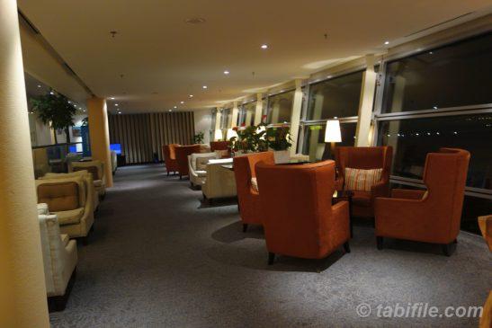KLIA Platinum lounge