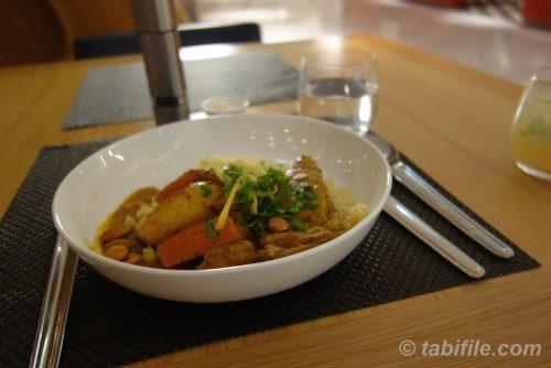 野菜と魚のカレー煮的なもの