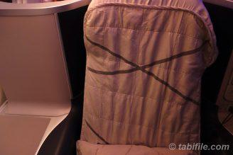 マレーシア航空シートカバー