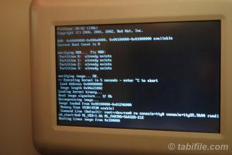 システムはLinuxでした