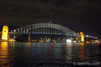 ハーバーブリッジ(夜)
