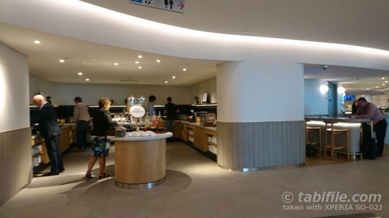 Qantas business lounge BNE