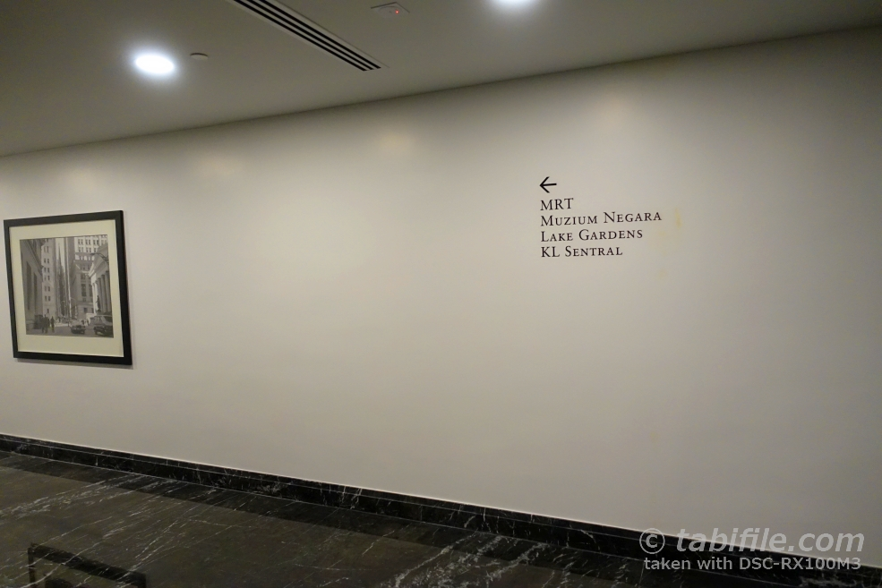 ST.REGIS 地下2階