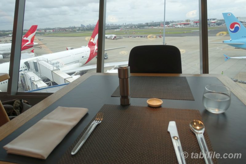 QANTAS SYDNEY INTERNATIONAL FIRST LOUNGE