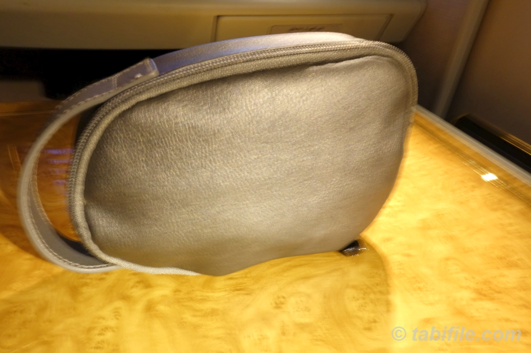 Emirates firstclass amenitykit