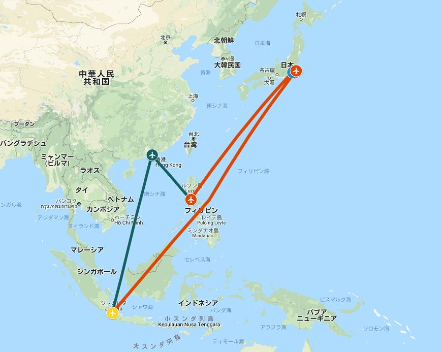 2019-2020年末年始旅行