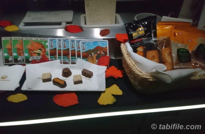 JAL オリジナルコースター