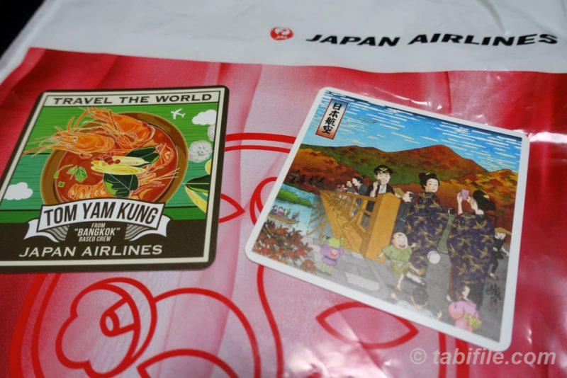 JALオリジナルコースター